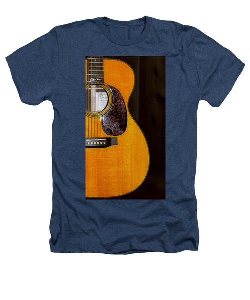 Martin Guitar  Heathers T-Shirt by Bill Cannon