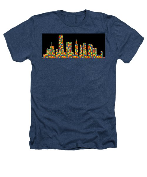 Miami Skyline 2 Heathers T-Shirt