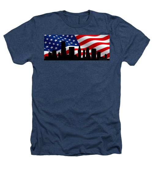 Miami Skyline Heathers T-Shirt