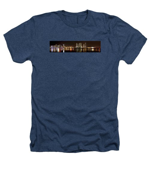 Miami - Skyline Panorama Heathers T-Shirt