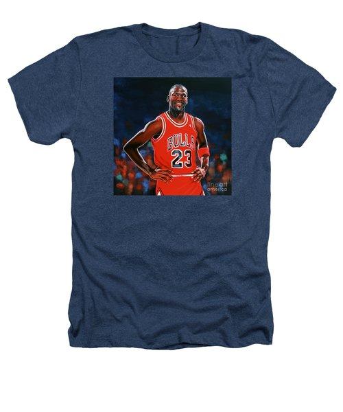 Michael Jordan Heathers T-Shirt by Paul Meijering