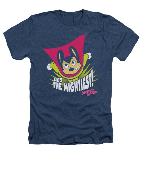 Mighty Mouse - The Mightiest Heathers T-Shirt by Brand A