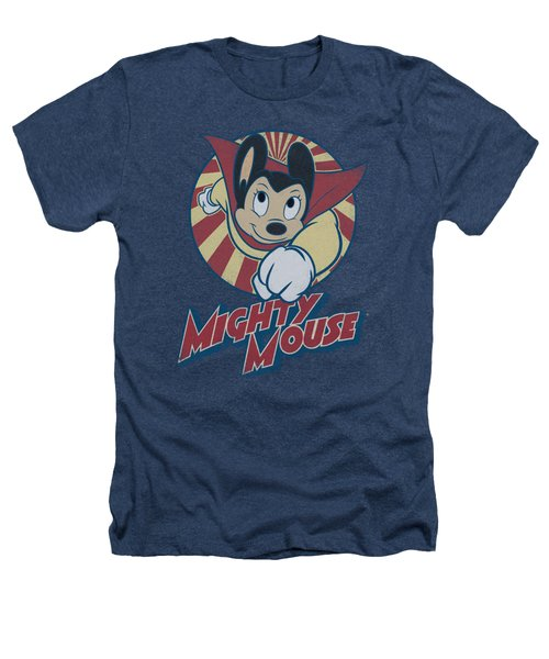 Mighty Mouse - The One The Only Heathers T-Shirt by Brand A