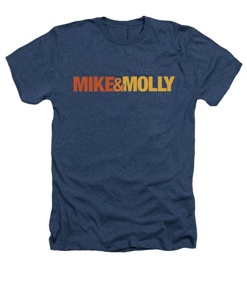 Mike And Molly - Logo Heathers T-Shirt