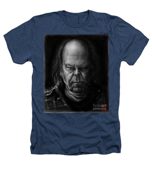 Neil Young Heathers T-Shirt by Andre Koekemoer