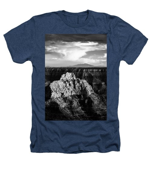 North Rim Heathers T-Shirt by Dave Bowman
