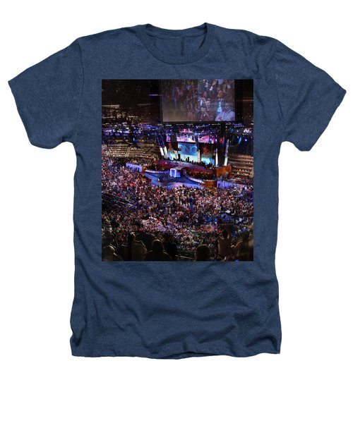 Obama And Biden At 2008 Convention Heathers T-Shirt