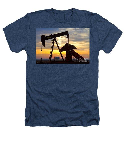 Oil Pump Sunrise Heathers T-Shirt