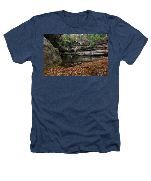 Old Mans Cave Heathers T-Shirt by James Dean