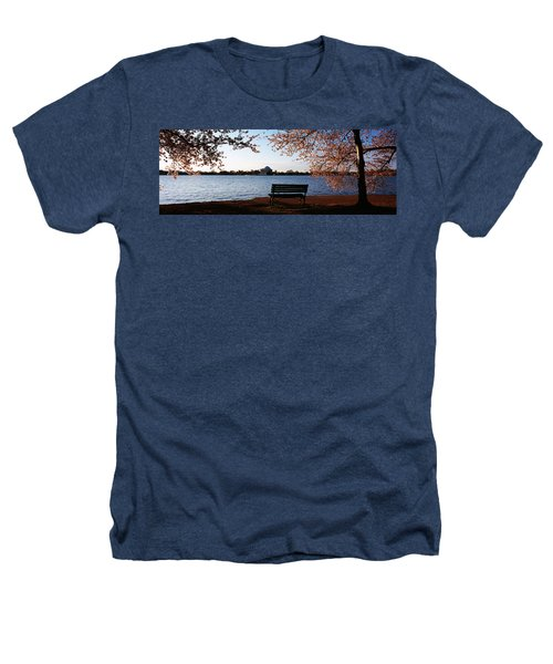 Park Bench With A Memorial Heathers T-Shirt by Panoramic Images