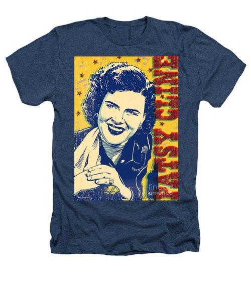 Patsy Cline Pop Art Heathers T-Shirt