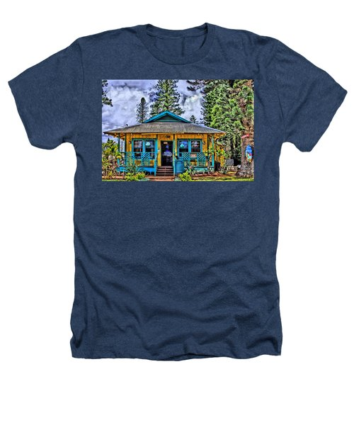 Pele's Lanai Island Hawaii Heathers T-Shirt by DJ Florek