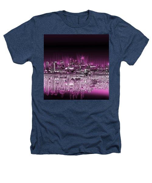 Philadelphia Skyline  Gradient 2 Heathers T-Shirt