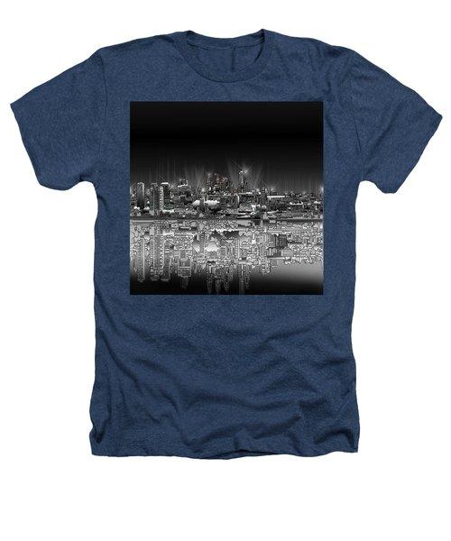 Philadelphia Skyline  Gradient Heathers T-Shirt