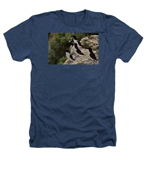 Razorbill Cliff Heathers T-Shirt