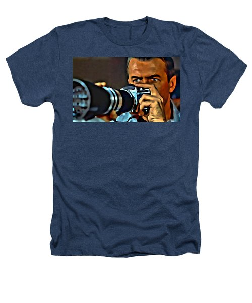 Rear Window Heathers T-Shirt by Florian Rodarte