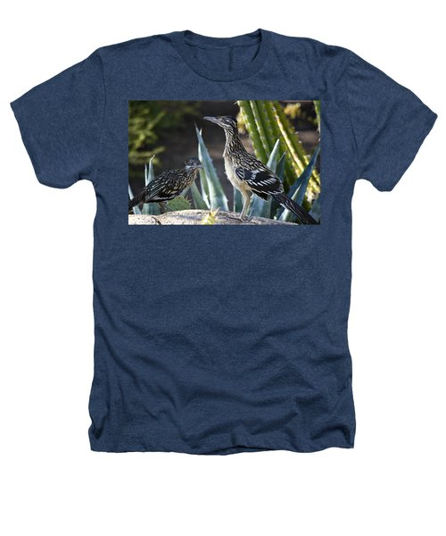 Roadrunners At Play  Heathers T-Shirt