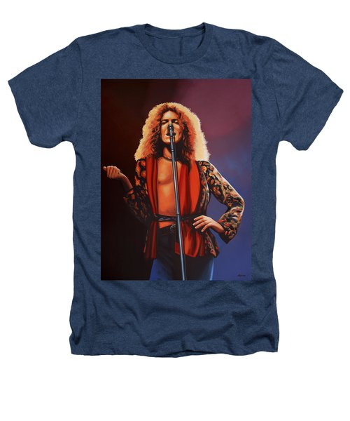 Robert Plant 2 Heathers T-Shirt
