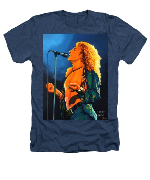Robert Plant Heathers T-Shirt by Paul Meijering