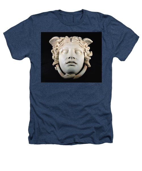 Rondanini Medusa, Copy Of A 5th Century Bc Greek Marble Original, Roman Plaster Heathers T-Shirt by .