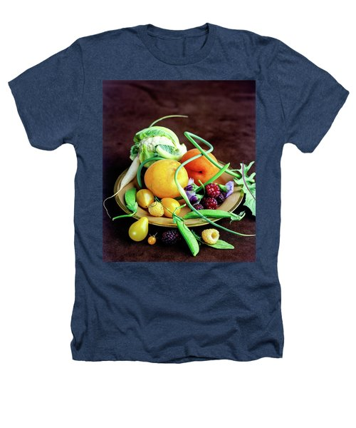 Seasonal Fruit And Vegetables Heathers T-Shirt