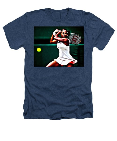 Serena Williams 3a Heathers T-Shirt by Brian Reaves