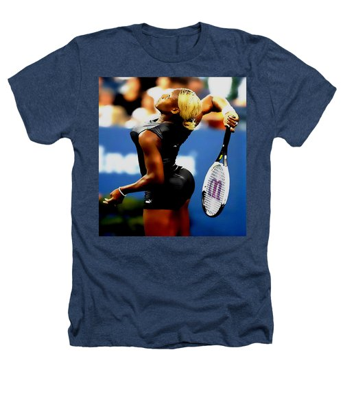 Serena Williams Catsuit II Heathers T-Shirt