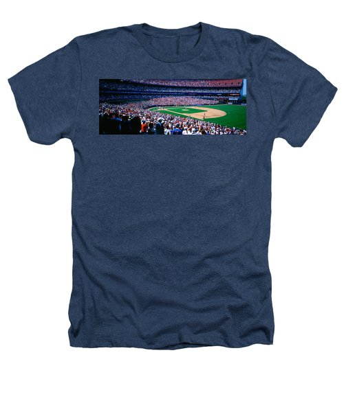 Spectators In A Baseball Stadium, Shea Heathers T-Shirt