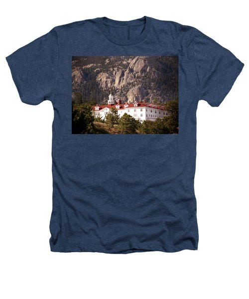 Stanley Hotel Estes Park Heathers T-Shirt by Marilyn Hunt