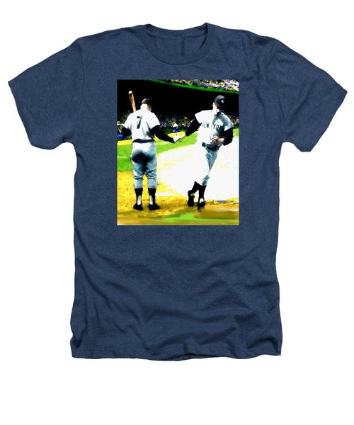Summer Of The Gods  Iv 1961 Mickey Mantle Heathers T-Shirt by Iconic Images Art Gallery David Pucciarelli