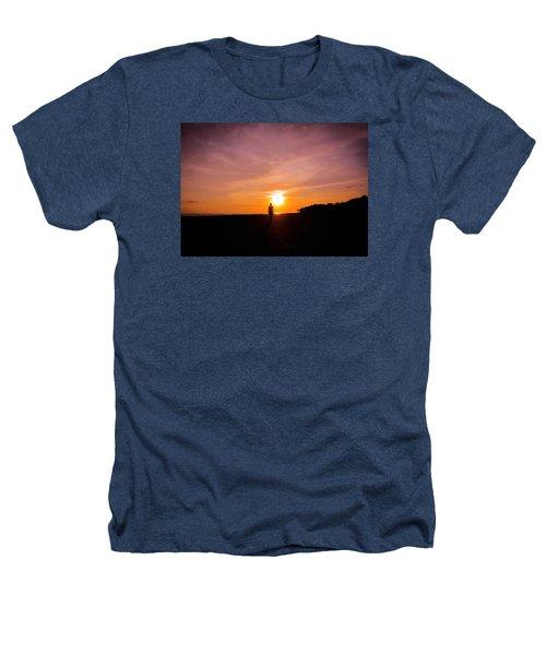 Sunset Walk Heathers T-Shirt