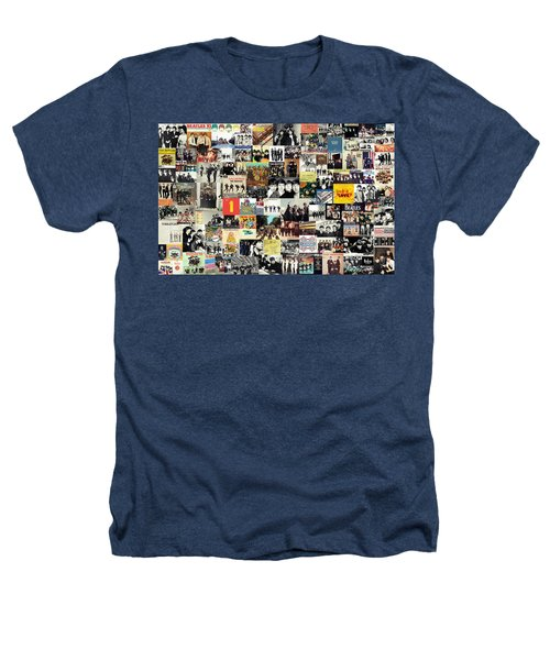 The Beatles Collage Heathers T-Shirt