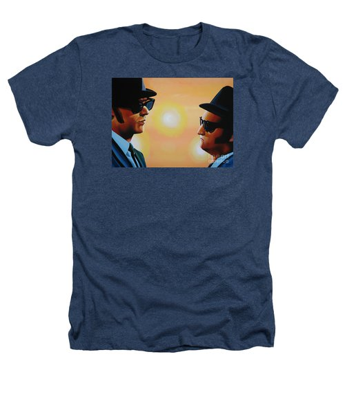 The Blues Brothers Heathers T-Shirt by Paul Meijering