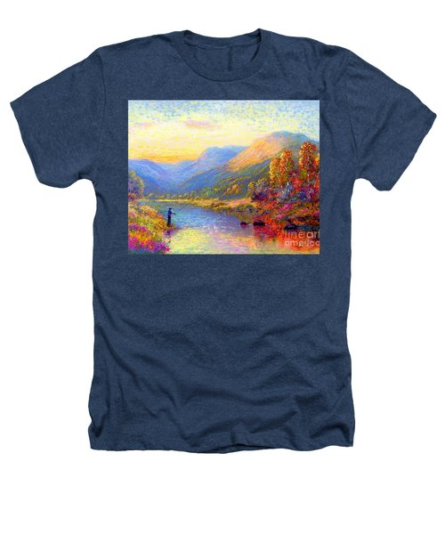 Fishing And Dreaming Heathers T-Shirt