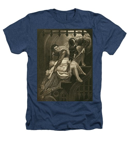 The Murder Of The Two Princes Heathers T-Shirt by James Northcote