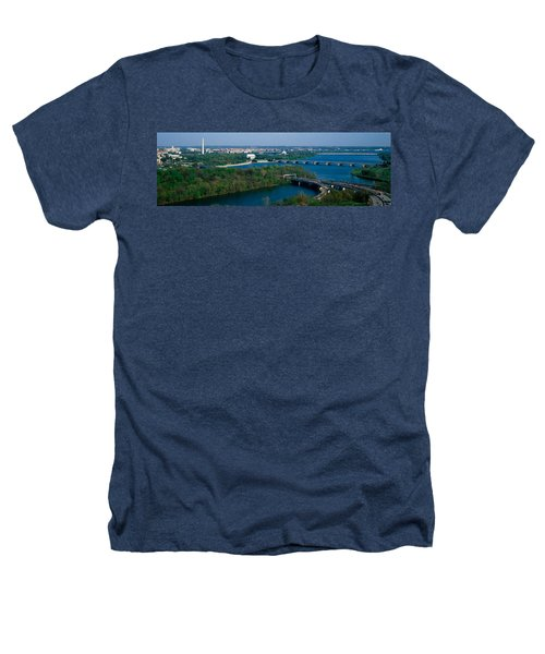 This Is An Aerial View Of Washington Heathers T-Shirt by Panoramic Images