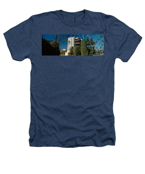 Trees In Front Of A Hotel, Beverly Heathers T-Shirt by Panoramic Images