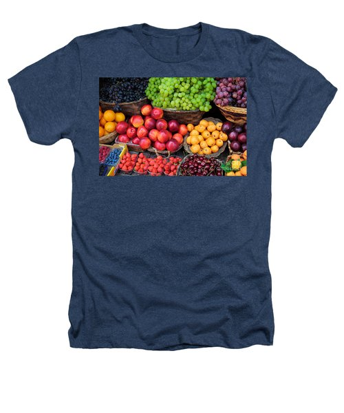 Tuscan Fruit Heathers T-Shirt by Inge Johnsson