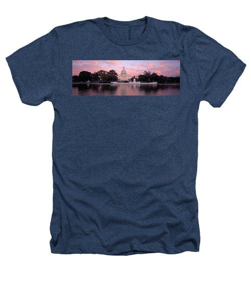 Us Capitol Washington Dc Heathers T-Shirt