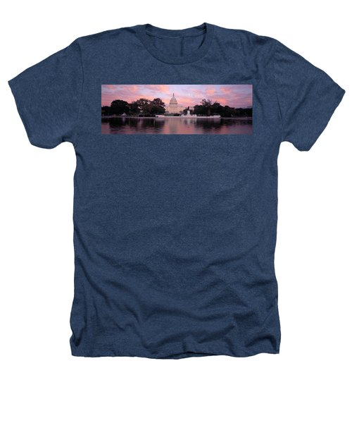 Us Capitol Washington Dc Heathers T-Shirt by Panoramic Images