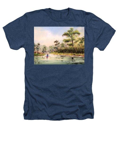 Wacissa River  Heathers T-Shirt by Bill Holkham