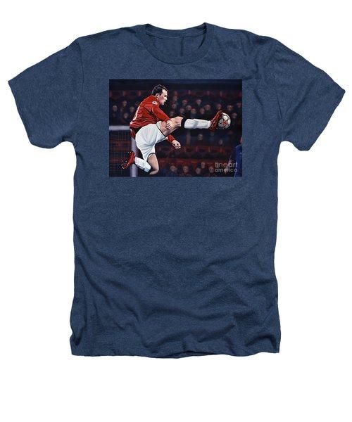 Wayne Rooney Heathers T-Shirt by Paul Meijering