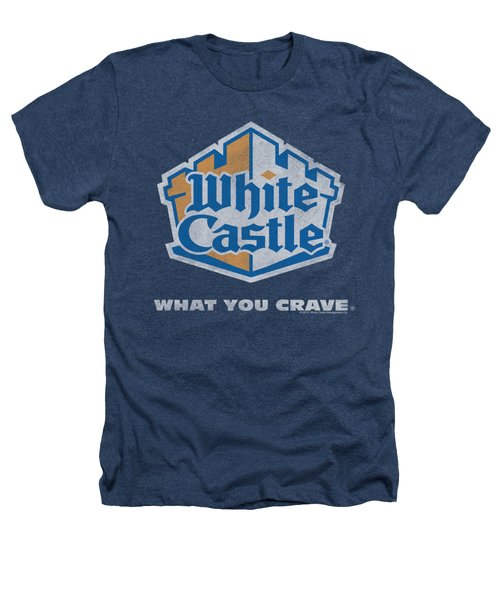 White Castle - Distressed Logo Heathers T-Shirt by Brand A