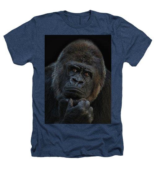 You Ain T Seen Nothing Yet Heathers T-Shirt by Joachim G Pinkawa