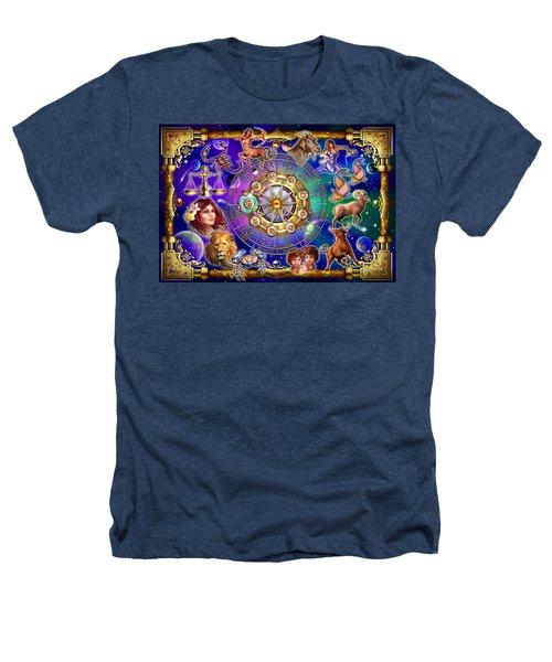Zodiac 2 Heathers T-Shirt by Ciro Marchetti