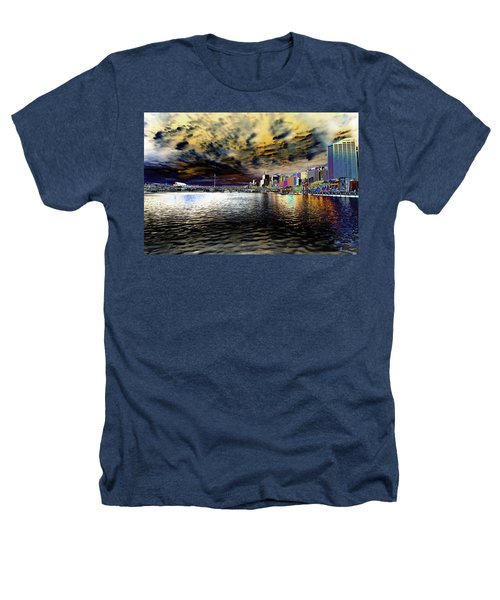 City Of Color Heathers T-Shirt by Douglas Barnard