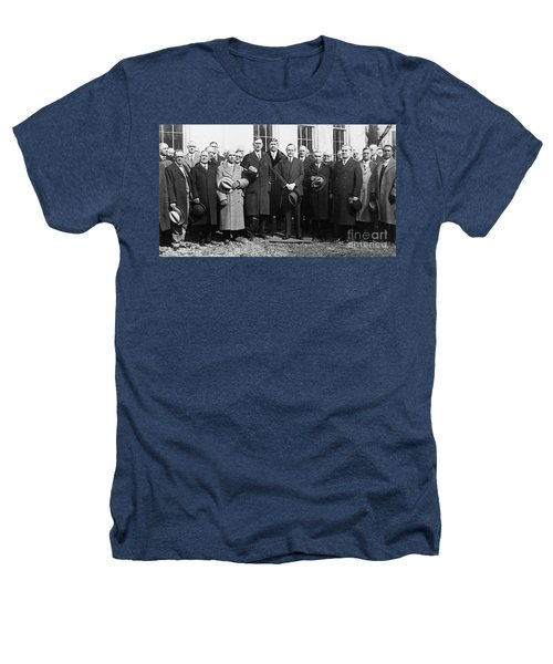 Coolidge: Freemasons, 1929 Heathers T-Shirt by Granger