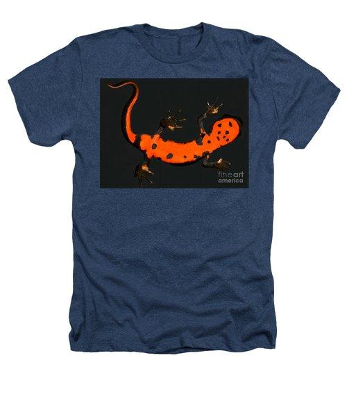 Fire Belly Newt Heathers T-Shirt by Dante Fenolio