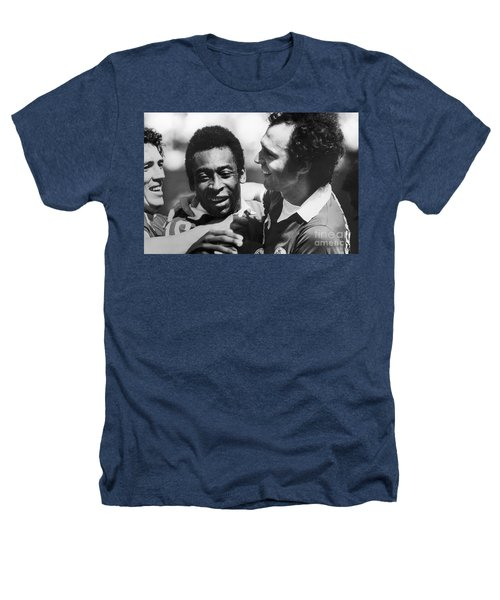 Pele & Beckenbauer, C1977 Heathers T-Shirt by Granger