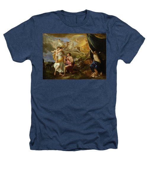 Selene And Endymion Heathers T-Shirt by Nicolas Poussin